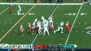 Mark Walton vs Buffalo Bills/Washington Redskins