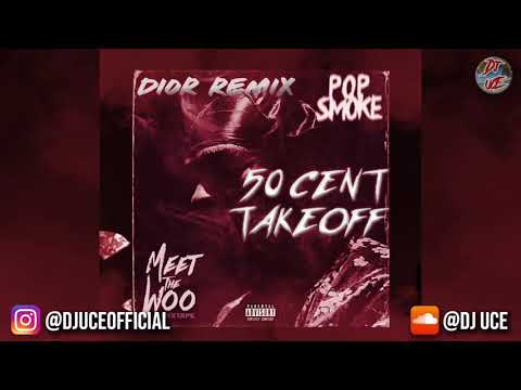 POP SMOKE - DIOR (REMIX) ft. 50 CENT & TAKEOFF || TRIBUTE