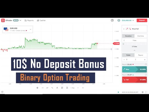 How To Get 10$ No Deposit Bonus In Tamil | Binary Options Trading | Deriv App