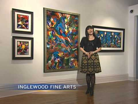 CTV InTouch - Master Charles Carson, Canadian Artist - Inglewood Fine Arts Gallery