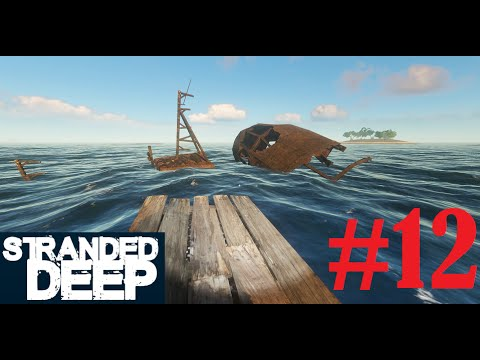 Let's Play - Stranded Deep #12 - Treasure Hunting and Finished Beach House