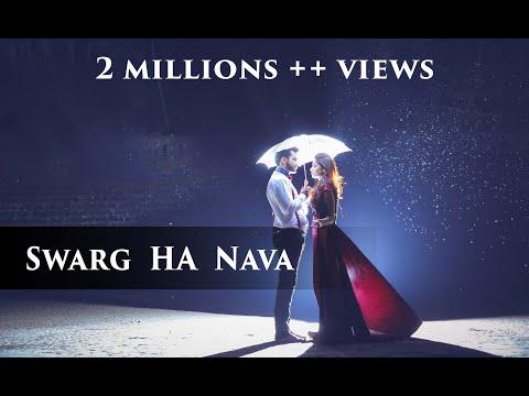 Swarg Ha Nava Song | स्वर्ग हा नवा वाटतो हवा | marathi prewedding  song.| By Yogendra Chavhan