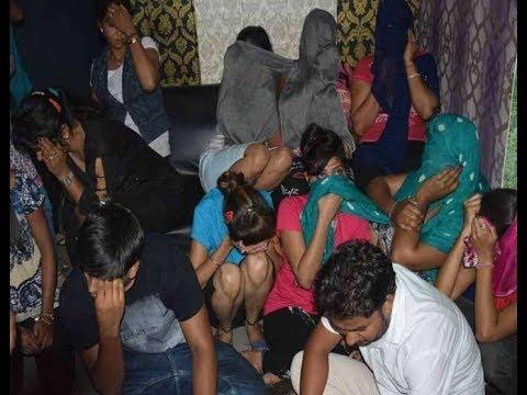 Panipat Mittal Mall Message Parlour Sex Racket CJM Live Raid Police Par  Uthe Saval Watch & Share
