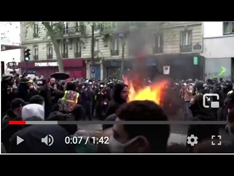 A Look @ May Day Protests Across The Globe, where Police and