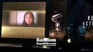 KATHRYN Bernardo WINS The EDDYS BEST ACTRESS, DINGDONG Dantes is BEST ACTOR, LIWAY is BEST PICTURE