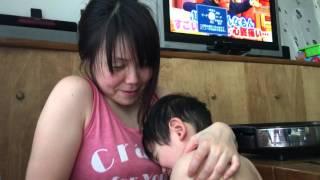 【家族】ママに甘える3才1ヶ月の柴田将幸 【4K】  【Masayuki 】 【Sorayuki】 【2016/4/22】  【koumeican】 【Shibata】 【柴田将幸】 【柴田宙幸】