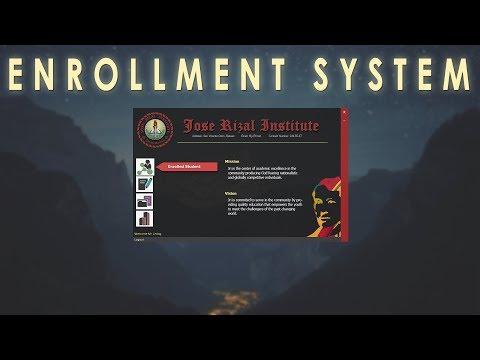 C# ENROLLMENT SYSTEM