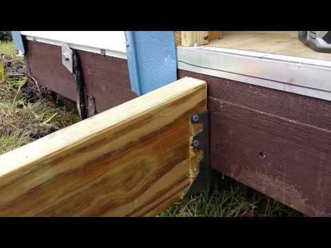 Shed Ramp build - YouTube