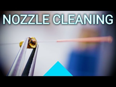 Basics: Cleaning out a clogged nozzle!