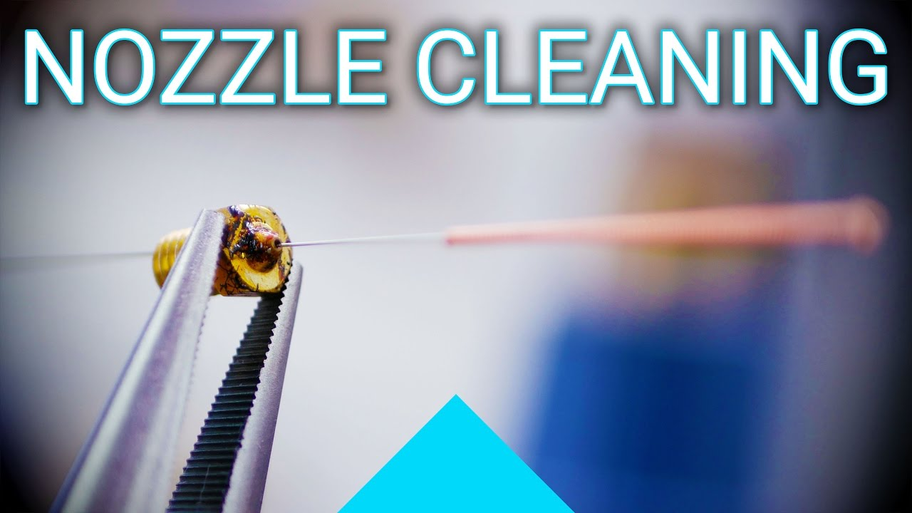 How to clean the nozzles 1