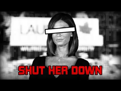 Reactionary Activists Shut It Down Faith Goldy Silenced At Wilfred Laurier University