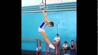 Спортивная гимнастика. Кольца