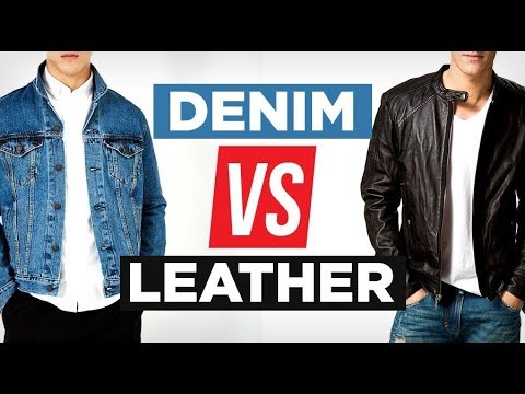 Denim Vs Leather Which Is More Stylish Battle Of The Jackets