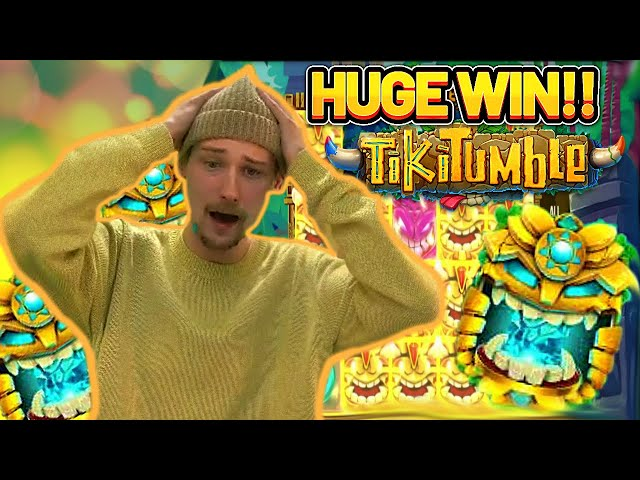 TIKI TUMBLE FINALLY PAYS OFF!! HUGE WIN ON CASINO SLOT FROM PUSH GAMING