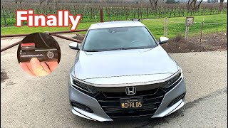 New dashcam install all 2018-2021 Honda Accord Acura owners should buy before any mod
