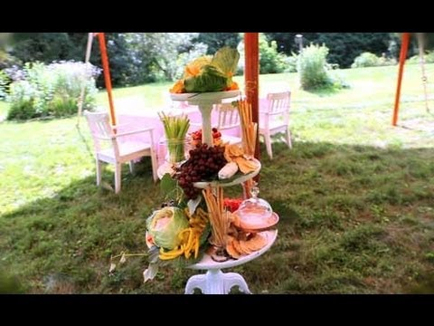 Summer Party Appetizers Ideas for an Outdoor Display