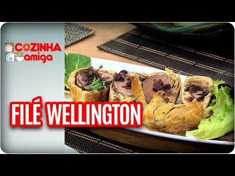 Filé Wellington Com Arroz De Forno - Michelle Francine | Cozinha Amiga (20/10/17)