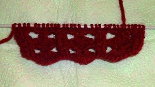 Вязание спицами ажурные узоры схемы
