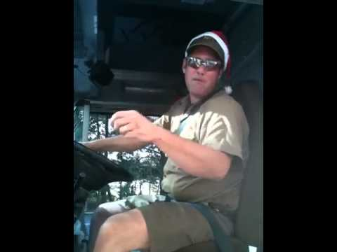 UPS Man Sings Christmas Jingle
