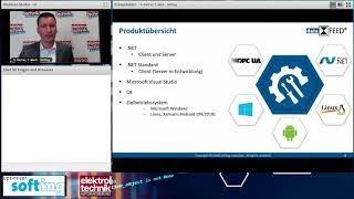 OPC UA Entwicklung Softing Webinar