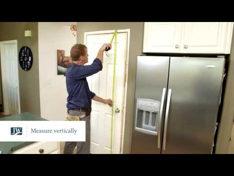 Measuring For A Pre-hung And Slab Door