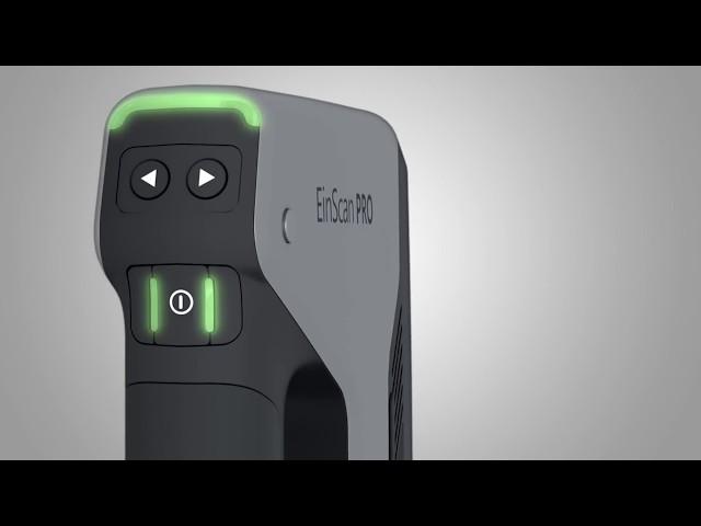Einscan Pro Plus: Scanner 3D Professionale Multifunzione a Luce Strutturata