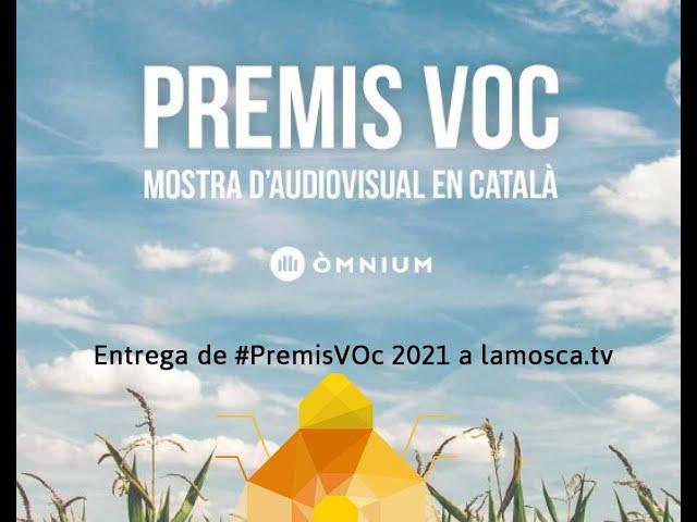 Acte d'entrega dels #PremisVoc 2021 d' Omnium Cultural (Barcelona 4/03/2021)