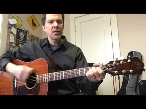 Tennessee Whiskey  - easy strum lesson in 6/8