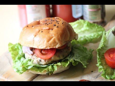 Easy Chicken Burger Recipe