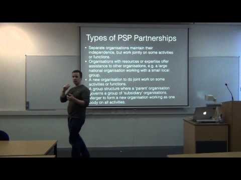Partnership and Collaborative Working: Third Sector Partnering by Dr. Alex Hope