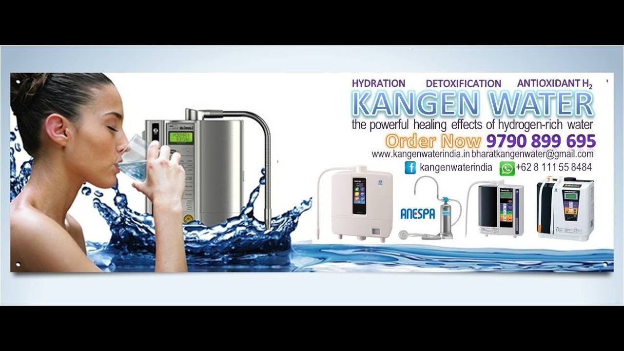 kangen water india products