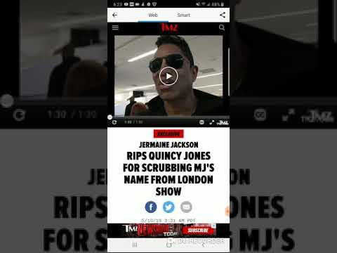 Jermaine Jackson rips Quincy Jones for scrubbing MJ's name from London show 😲 Mp3
