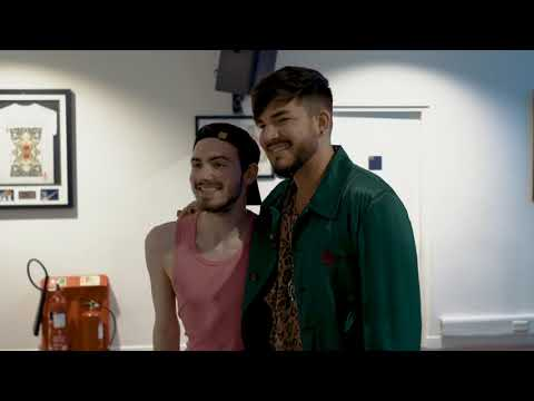 Adam Lambert - Backstage at The O2 Arena