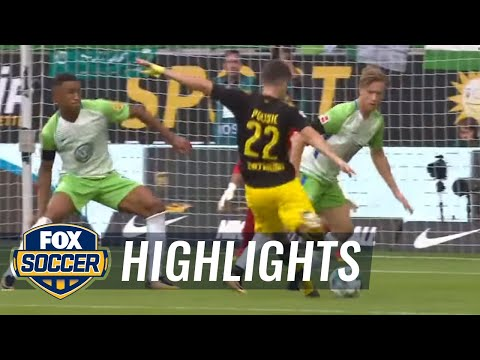 VfL Wolfsburg vs. Borussia Dortmund | 2017-18 Bundesliga Highlights