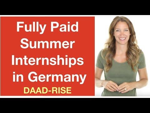 Summer Internships in Germany - DAAD RISE (Aniket Singh - Intern Abroad This Summer)