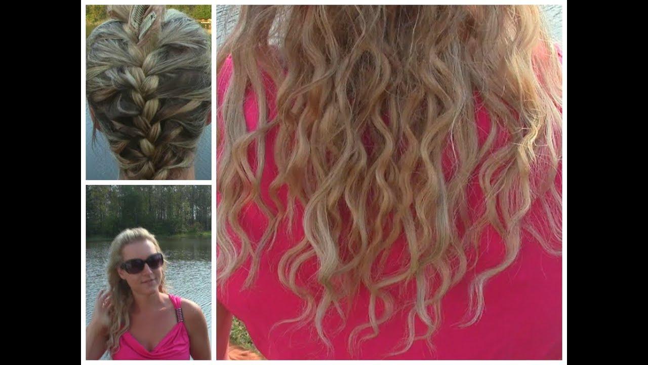 ~~No Heat Beachy Waves~~ For Thin Hair!! - YouTube