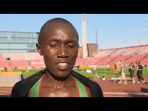 IAAF World Under 20 - Tampere - Rhonex Kipruto KEN 10,000 Metres Men Gold