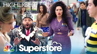 Superstore - Amys Halloween Scare Episode Highlight