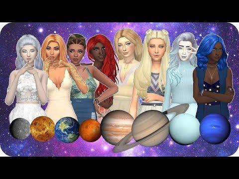 PLANETS | Sims 4 Create A Sim