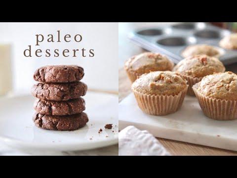 3 EASY DESSERT RECIPES   gluten + dairy free