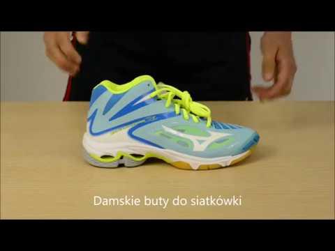 59a4c828 Buty Damskie do siatkówki Mizuno Wave Lightning Z3 MID - YouTube