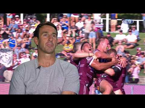 Manly Sea Eagles' Moment of the Year: 2018