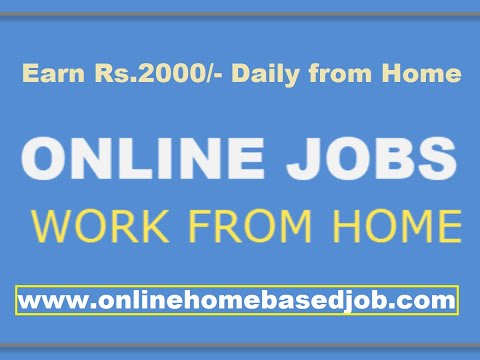 Online Home Based Part Time Jobs Without Investment