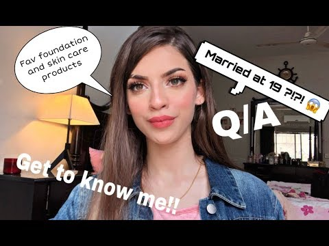 GET TO KNOW ME !!! Q/A | MAROOSHA'S MAKEUP
