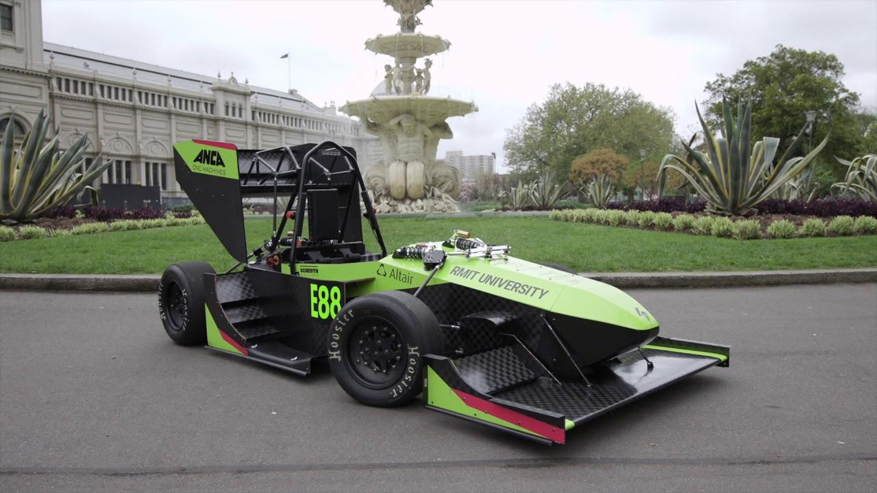 RMIT Electric Racing - R18e