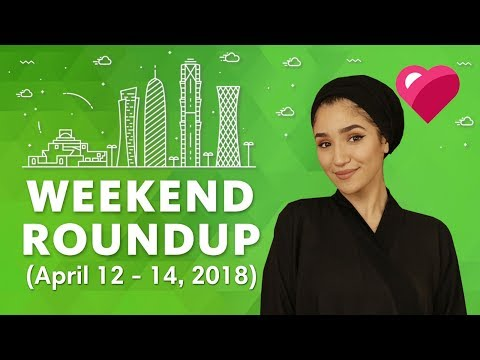 Top 5 Qatar Events (April 12-14, 2018)