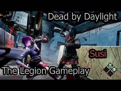 Dead by Daylight|The Legion Gameplay|Susie|