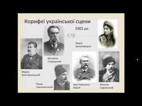Реферат Тему Театр Корифеїв