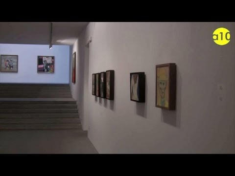 Kitaj presenta Odisea en la Galería Marlborought de Madrid