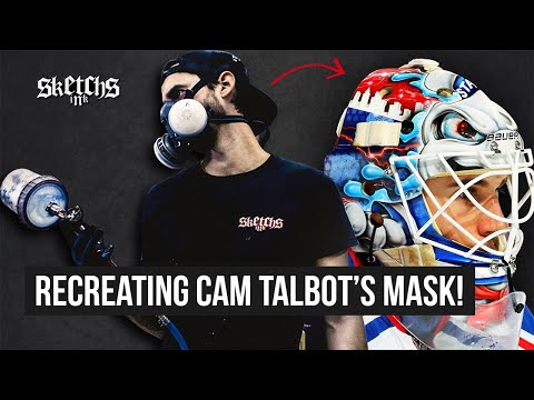 Recreating Cam Talbot's Goalie Mask